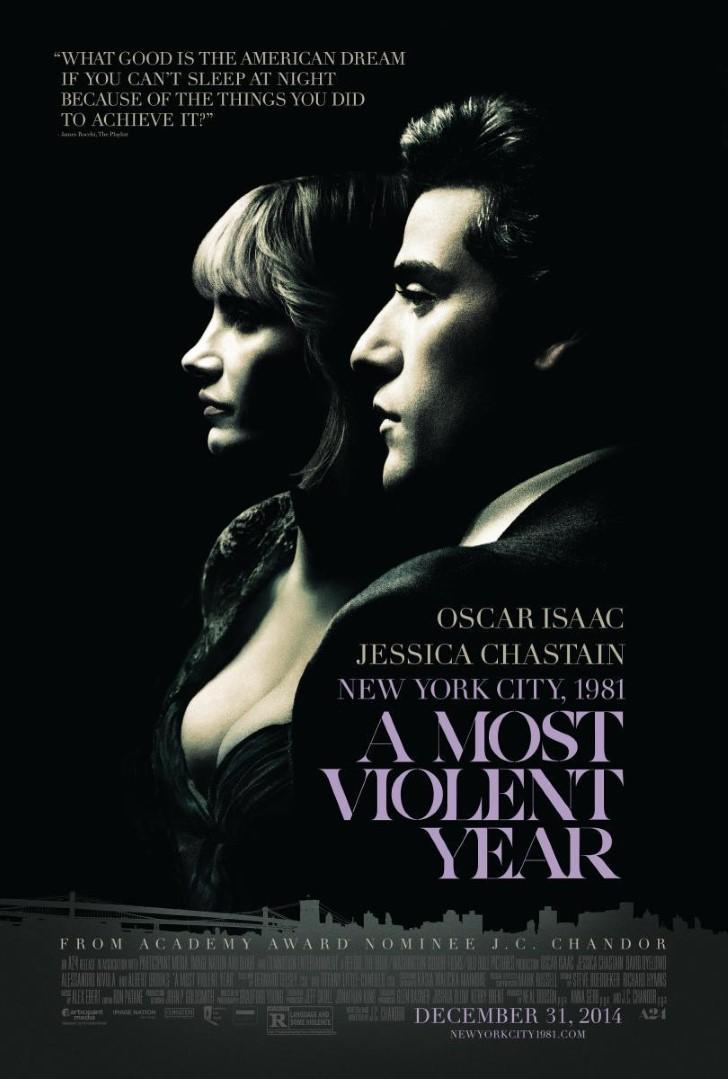 El año más violento (2014). portada