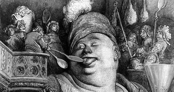Gustave doré gargantua pantagruel
