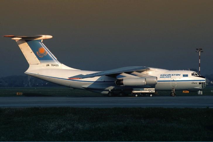 Kazakstan airlines ilyushin il 76td involucrado en la colisión charkhi dadri