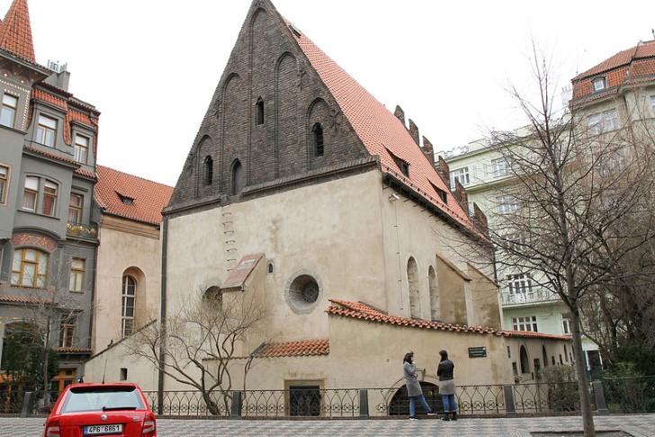 Sinagoga vieja nueva, praga