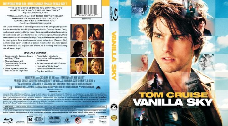 Vanilla sky (2001) bluray portada