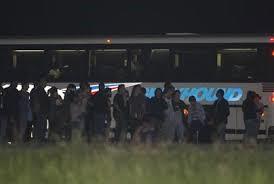 Autobús 1170 de greyhound pasajeros
