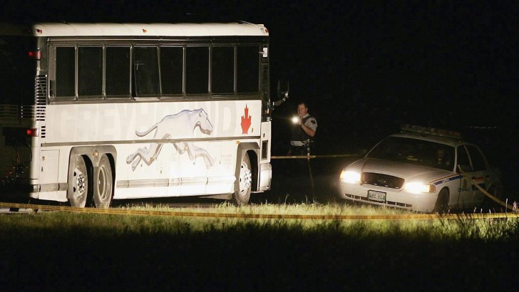 Autobús 1170 de greyhound