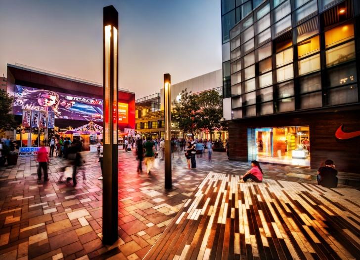 Centro comercial en beijing
