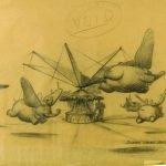Una encantadora colección de objetos antiguos de Disneylandia