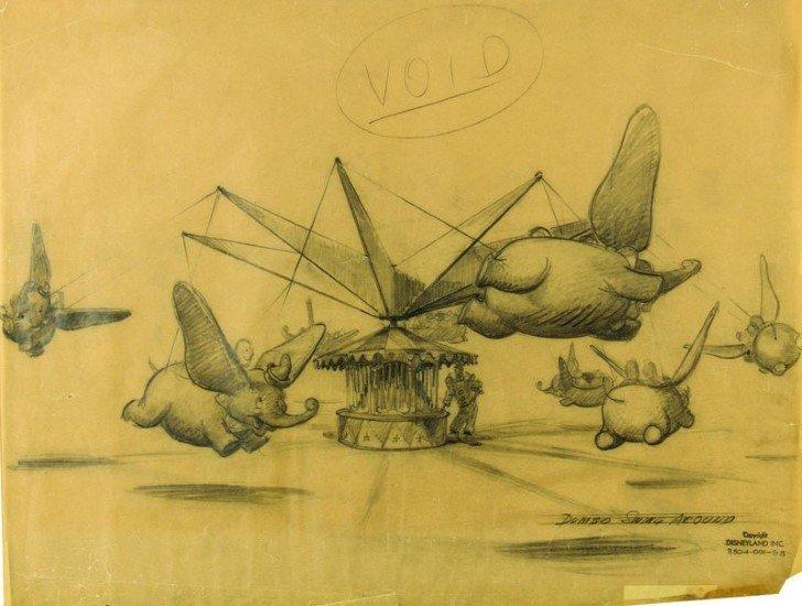 Dumbo ilustracion