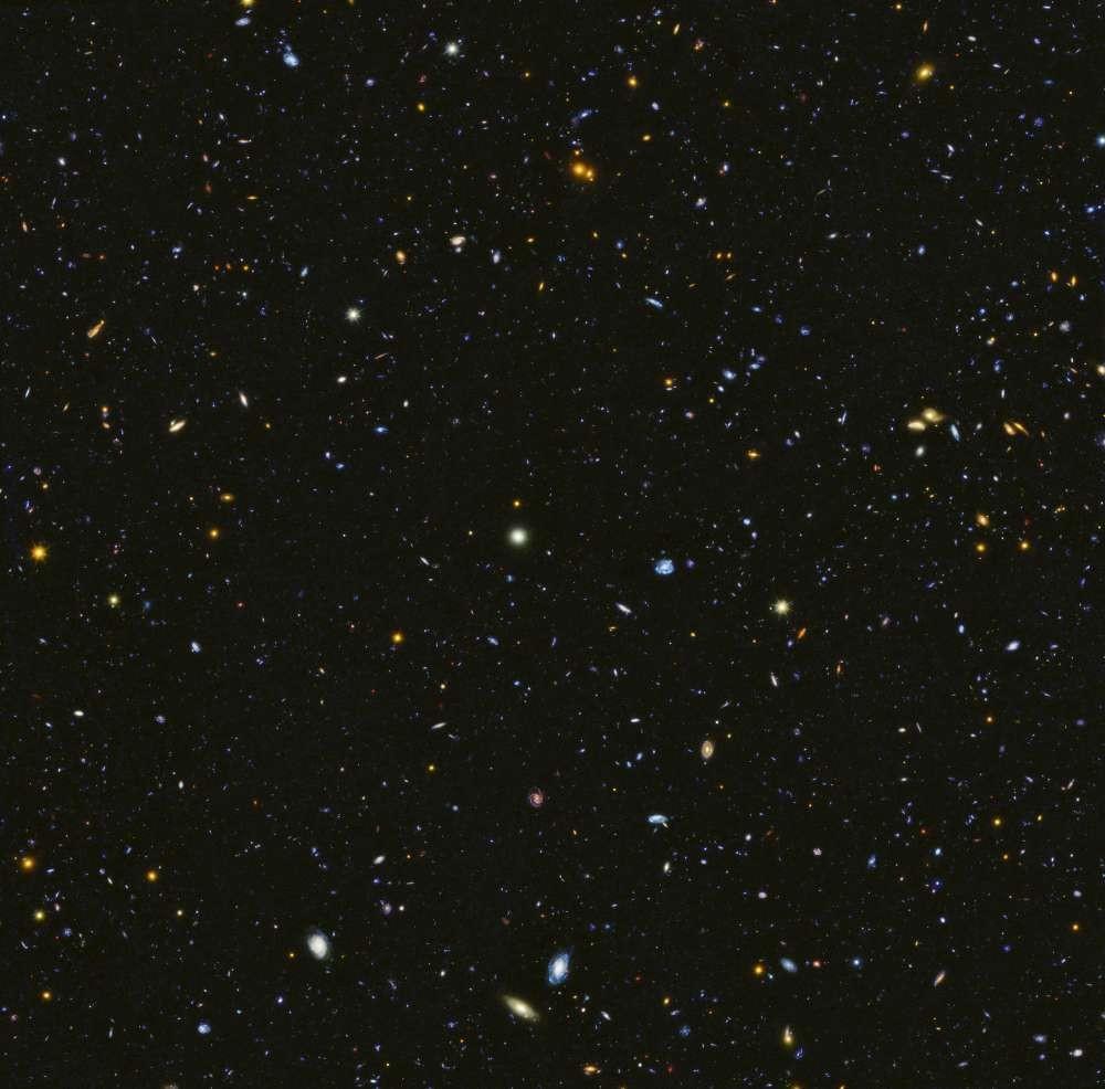 El universo hace 11 mil millones de años