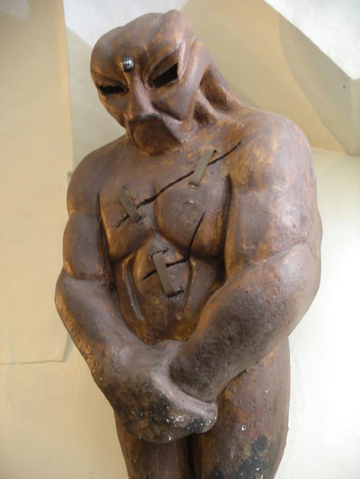Estatua golem