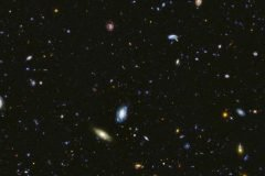 Fotografia del universo por el telescopio hubble