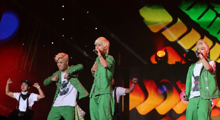 Grupo de kpop jovenes