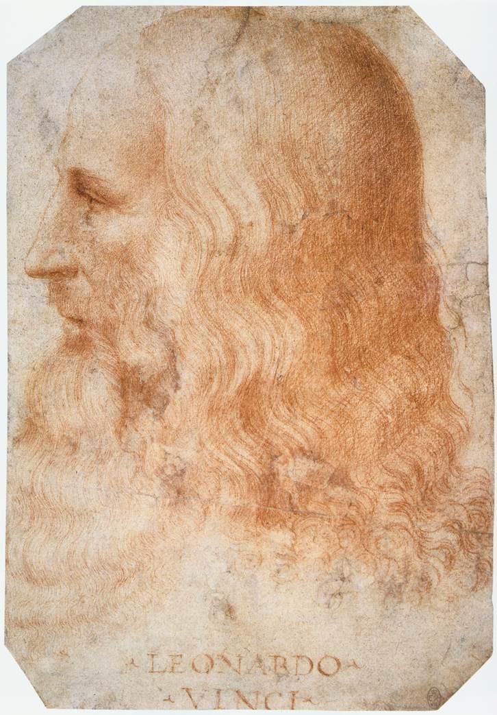 Leonardo da vinci retrato