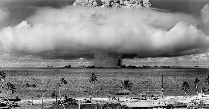 Prueba nuclear en el oceano