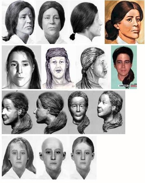 Retratos dama de las dunas