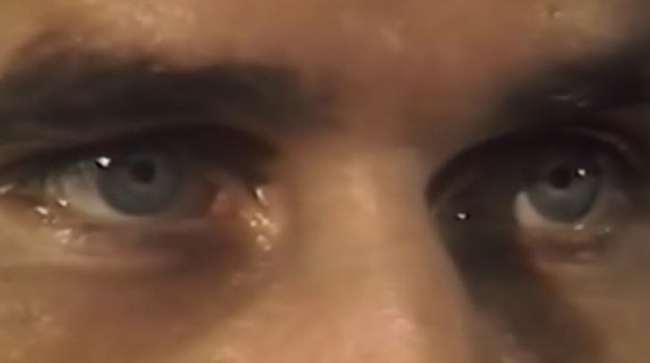 Roch thériault ojos azules