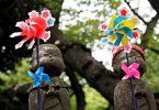 Estatuas mizuko jizo