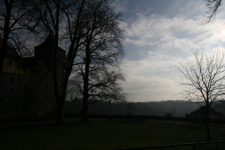 Jardin de un castillo