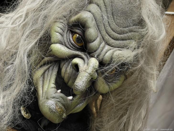 Mascara de bruja