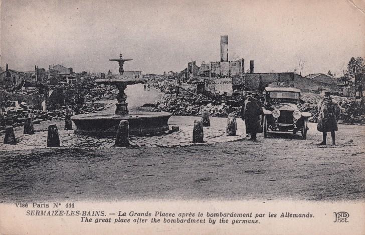 Paris tras el bombardeo aleman