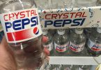 crystal pepsi refresco de cola transparente