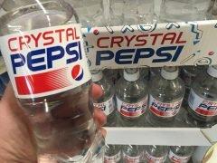 Crystal Pepsi: la bebida transparente arruinada por Coca-Cola