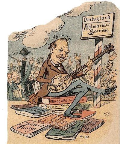 caricatura ahlwardt