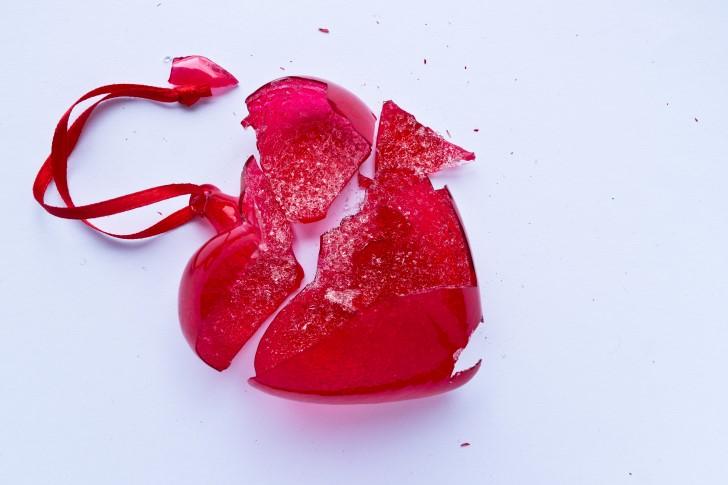 corazon de caramelo roto