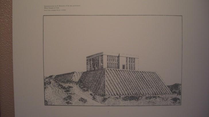Ilustracion templo de uruk