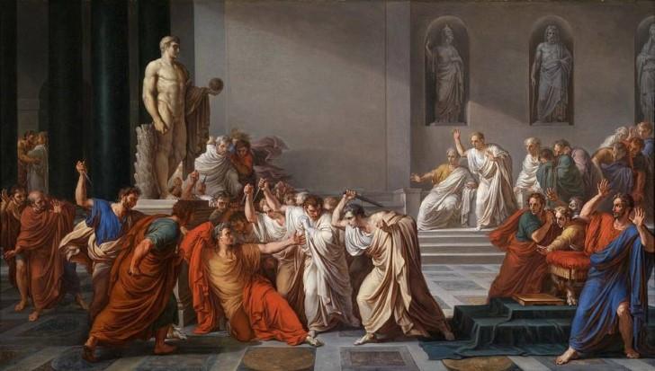 la muerte de julio cesar