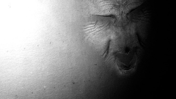 Monstruo en la pared