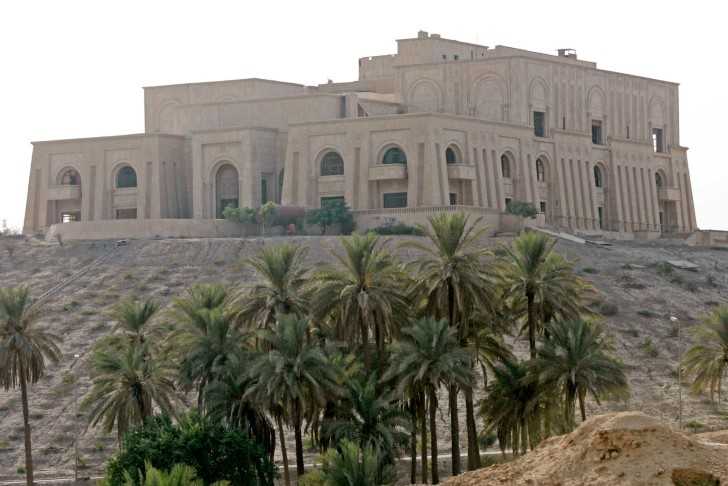 Palacio babilonio de sadam husein