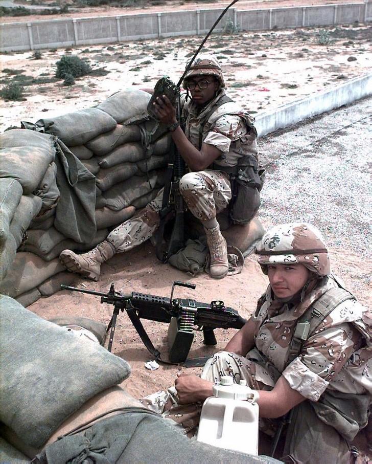 Fuerzas estadounideses en somalia