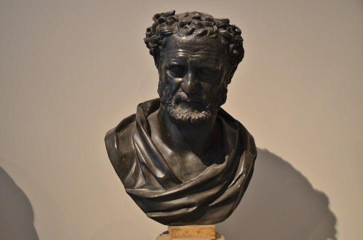 Heráclito de Éfeso busto