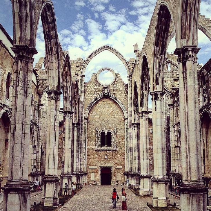 Igreja do carmo ruinas del convento