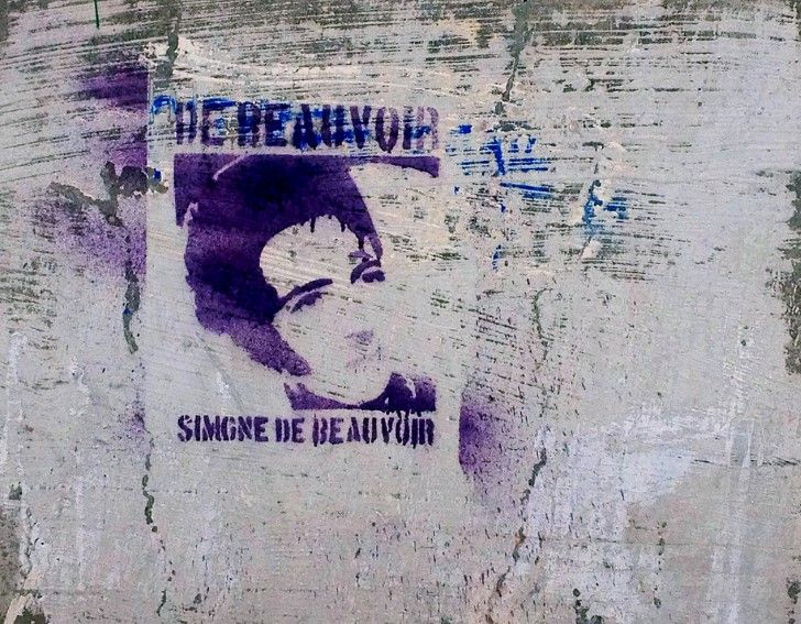 Simone de beauvoir cartel