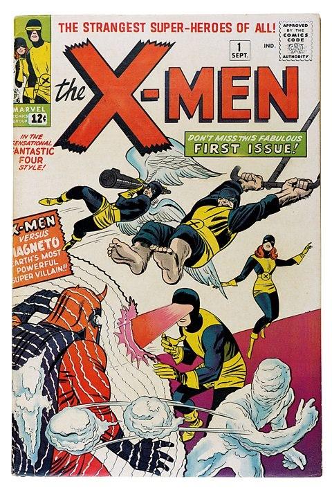 x men (septiembre de 1963),