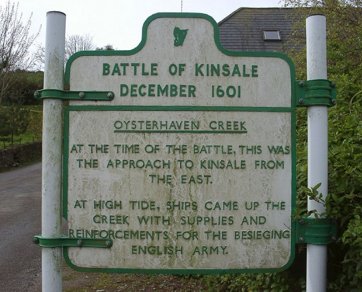 batalla de kinsale 1601 cartel