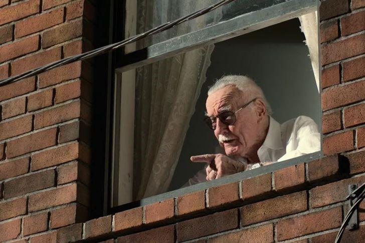 cameo de stan lee en el hombre araña pelicula