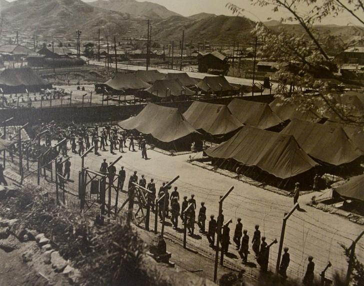 Campo de prisioneros de guerra