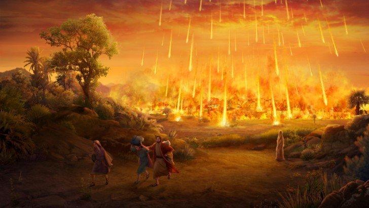 Destruccion de sodoma y gomorra
