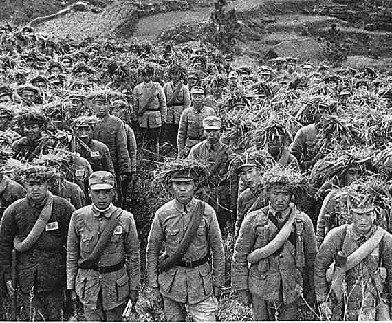 Ejercito chino segunda guerra mundial