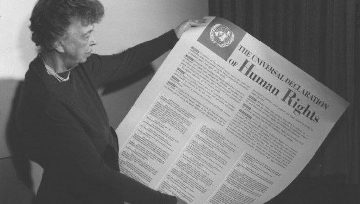 Eleanor roosevelt declaración universal de los derechos humanos