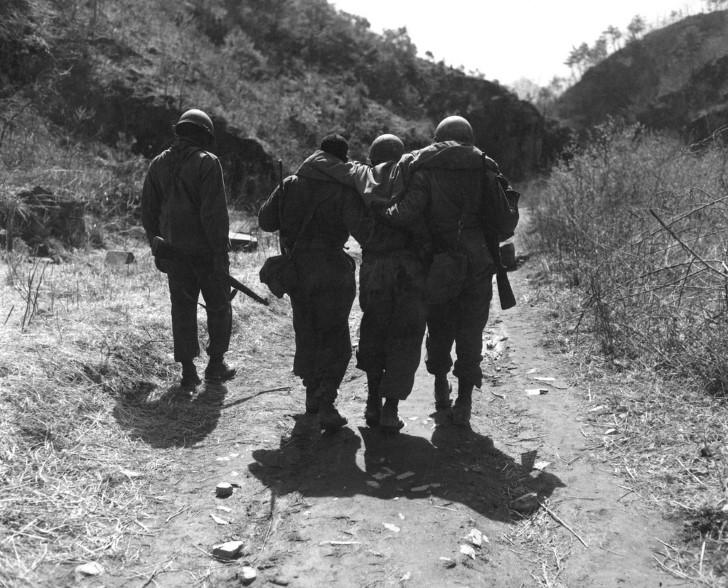 Herido guerra de corea