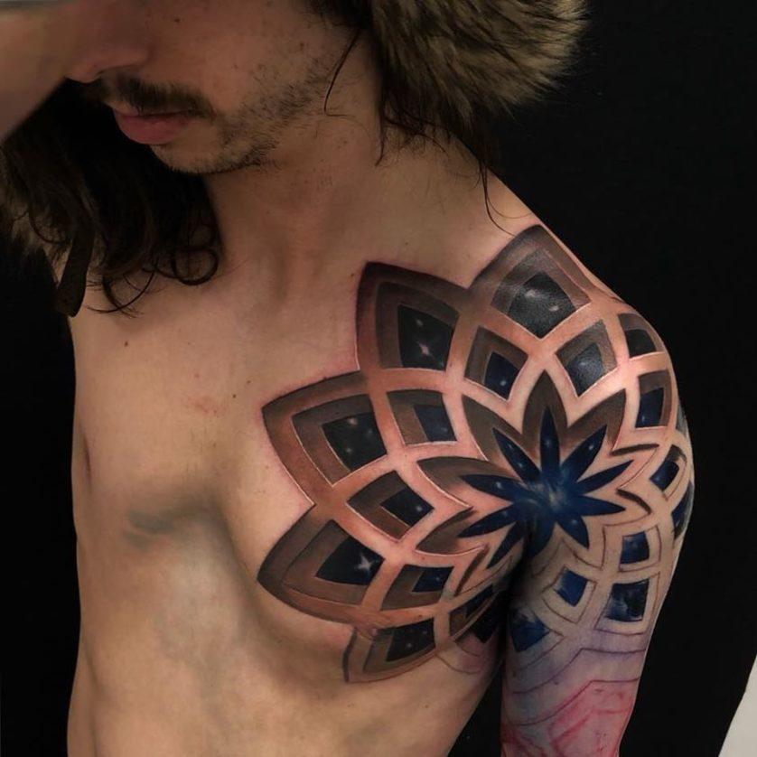 jesse rix tatuajes ilusion optica (9)