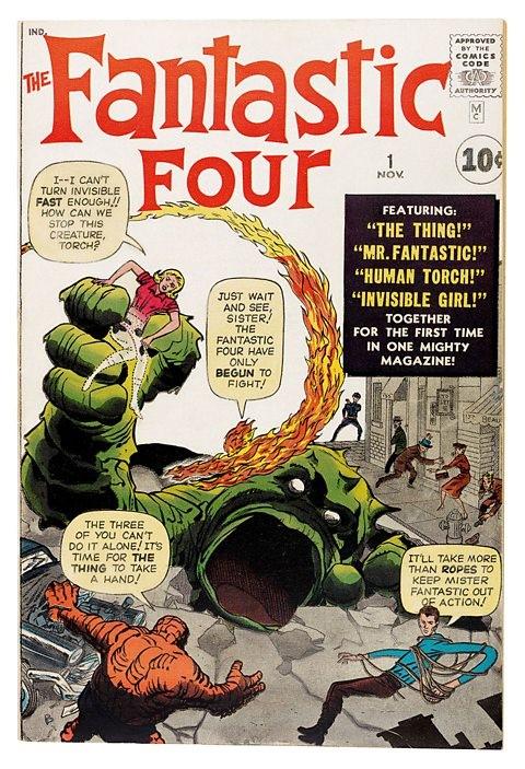 los cuatro fantasticos 1961