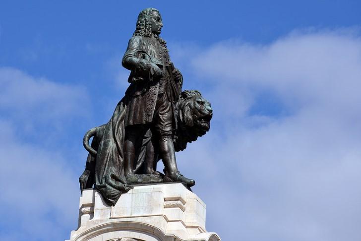 Marques de pombal estatua