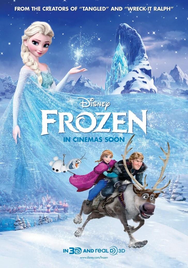Frozen poster Pelicula de 2013