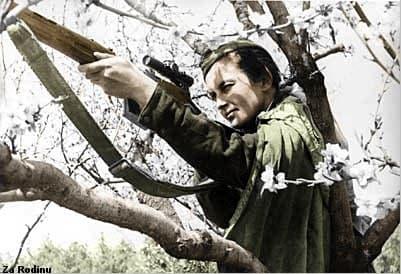 Liudmila Pavlichenko francotiradora sovietica