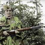 Liudmila Pavlichenko rifle