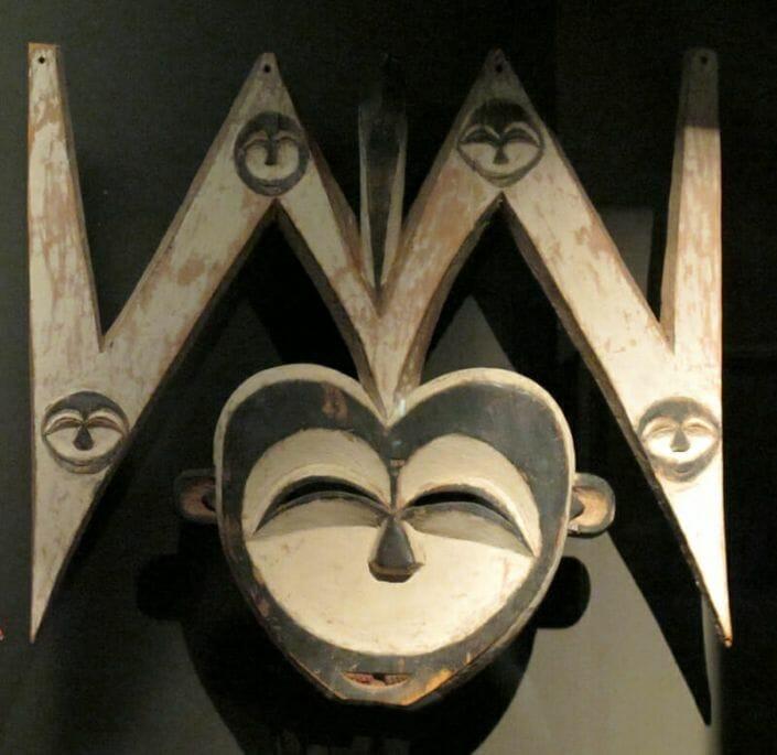 Masque Kwele. Gabon. Museum La Rochelle