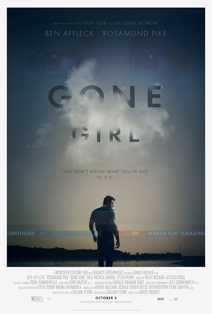 Perdida Gone Girl Pelicula 2014